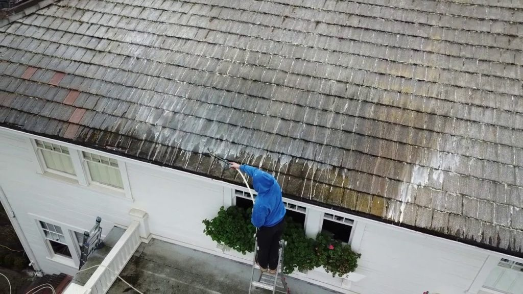 Roof Cleaning in Monmouth County